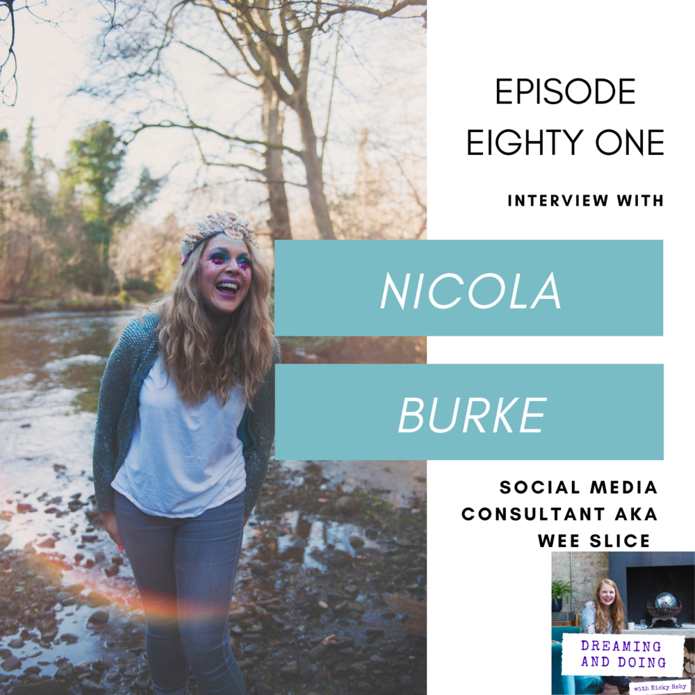 Episode Eighty One: Nicola Burke