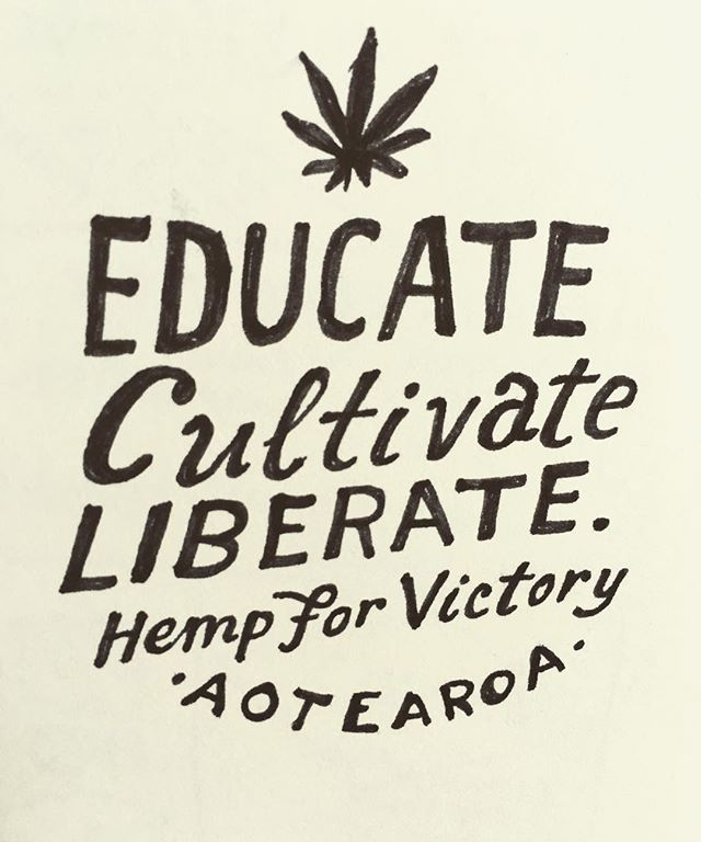 Educate. Cultivate. Liberate 🌿✊🏼#hempforvictory 📷 by @ednotmed