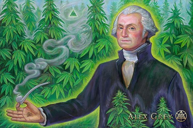 """Make the most of the Indian hemp seed, sow it everywhere."" #GeorgeWashington @alexgreycosm #hempforvictory"