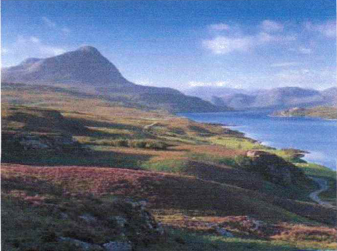 Ben Hope and Loch Hope