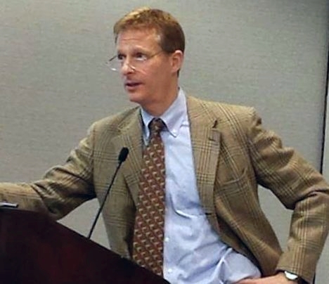 Speaking at the annual meeting of the American Association of Law Schools meeting in January 2014. Photo credit Mark Wojcik.