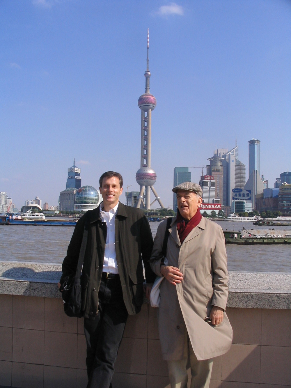 When I went to Shanghai with Dick Ottinger in around 2005, it was his first visit to that city in nearly 30 years when he'd gone as a member of the first Congressional delegation after Nixon's historic trip.