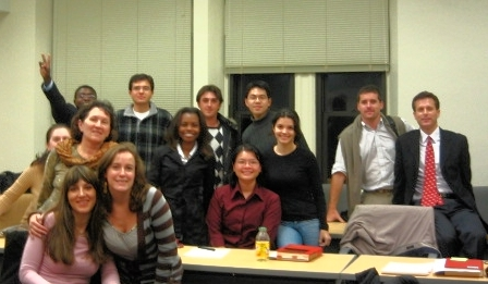 My Pace class, autumn 2006