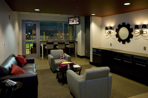 USC Carolina Baseball Stadium CDA INTERIORS