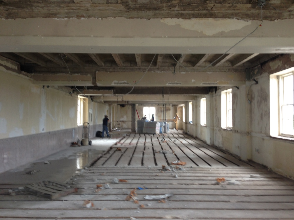 UNDER CONSTRUCTION UPSTATE OFFICE RENOVATION CDA INTERIORS