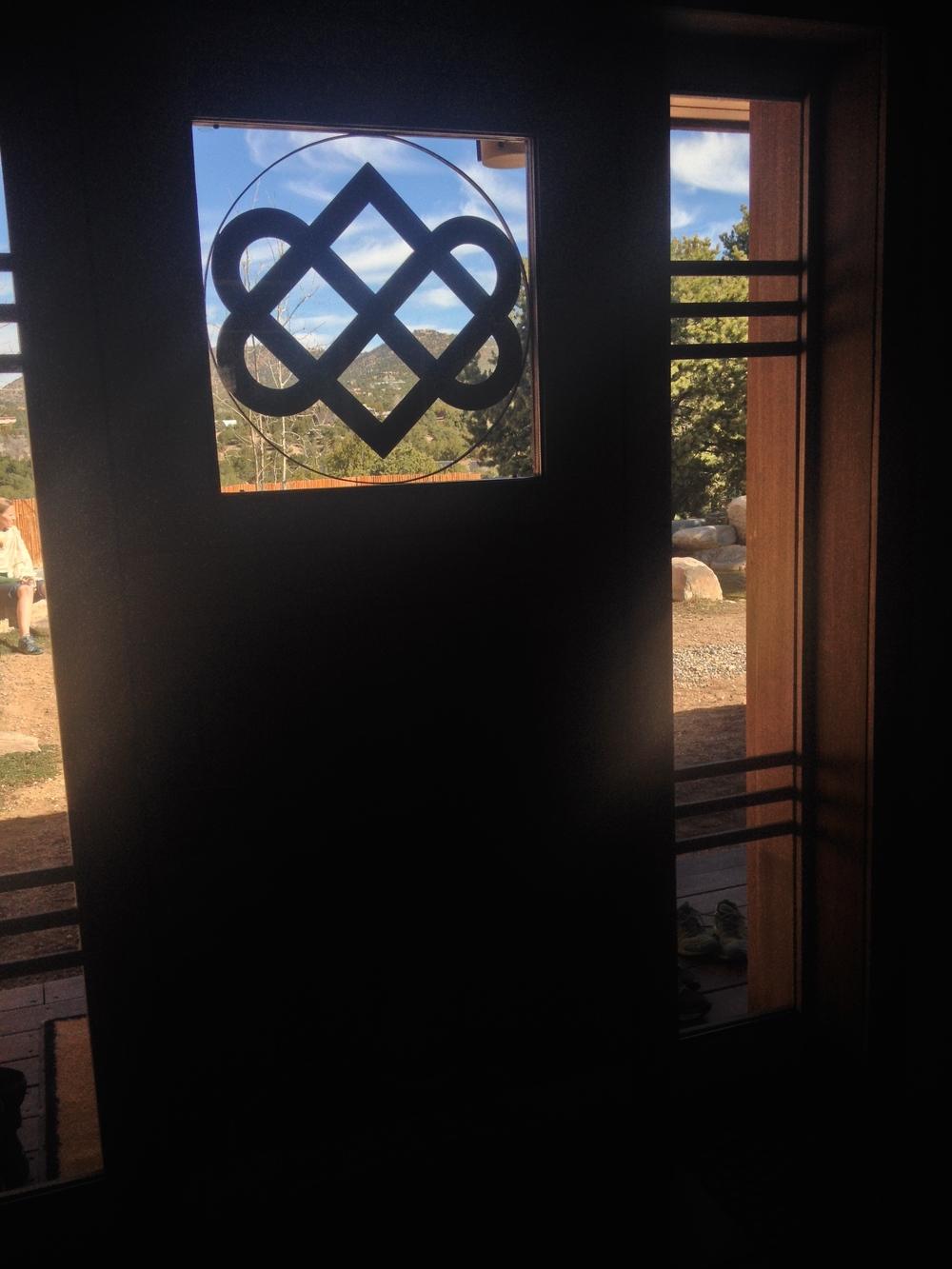 Prajna Yoga Temple Doors