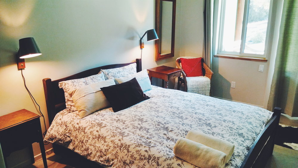 Two Suites are available for single or double occupancy.