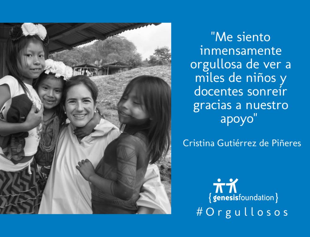 Cristina Gutierrez Genesis Foundation.png