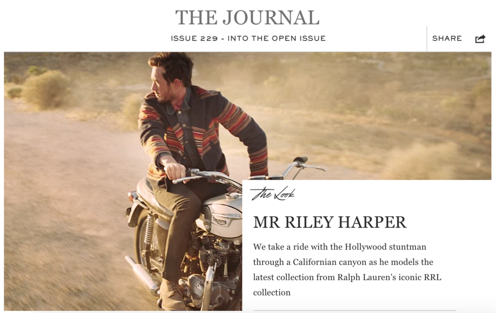 The Journal  by MR PORTER
