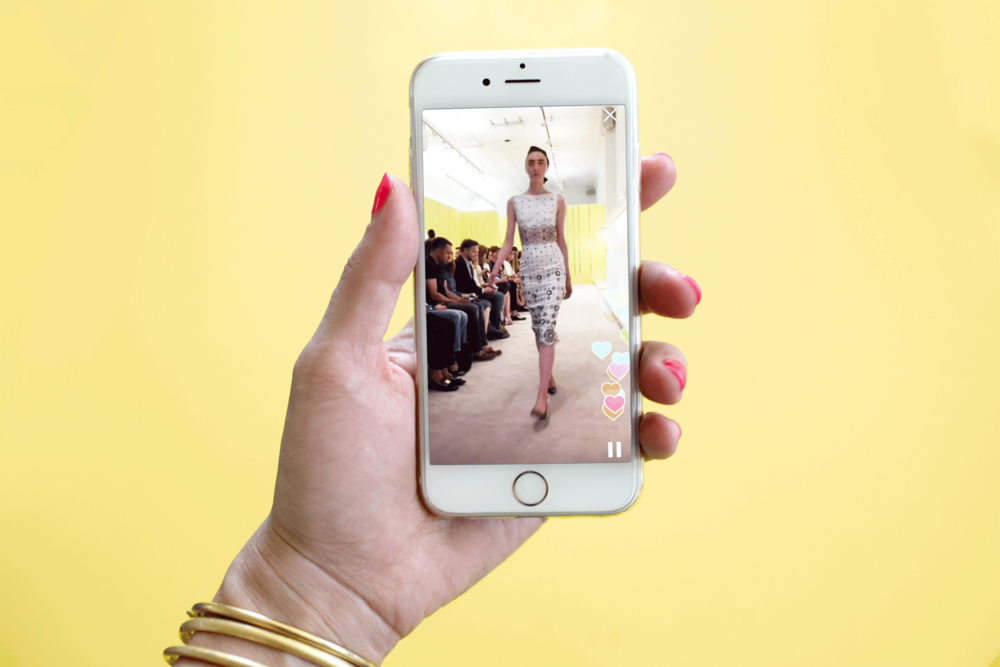 Marc Jacobs on Periscope for Resort 2016 (Via Forbes.)