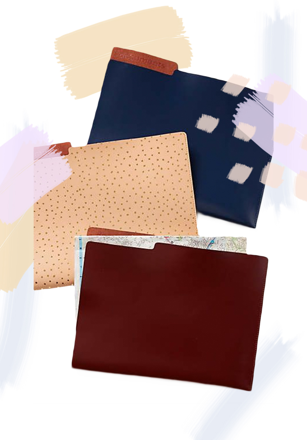 Anthropologie - Leather File Folder - $38