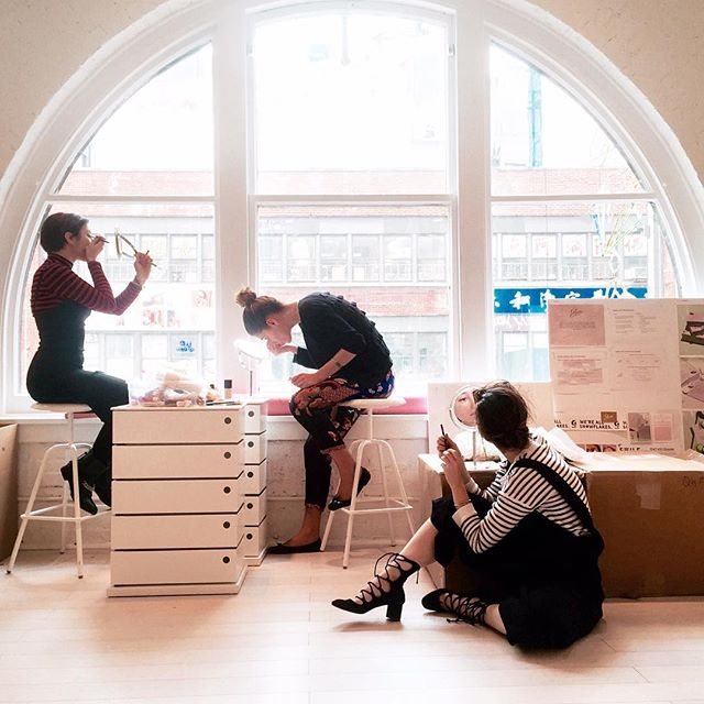 Fridays at Glossier -  @glossier on Instagram