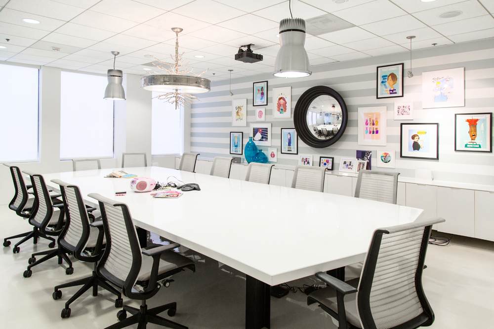 The conference room that launched a million giggles.
