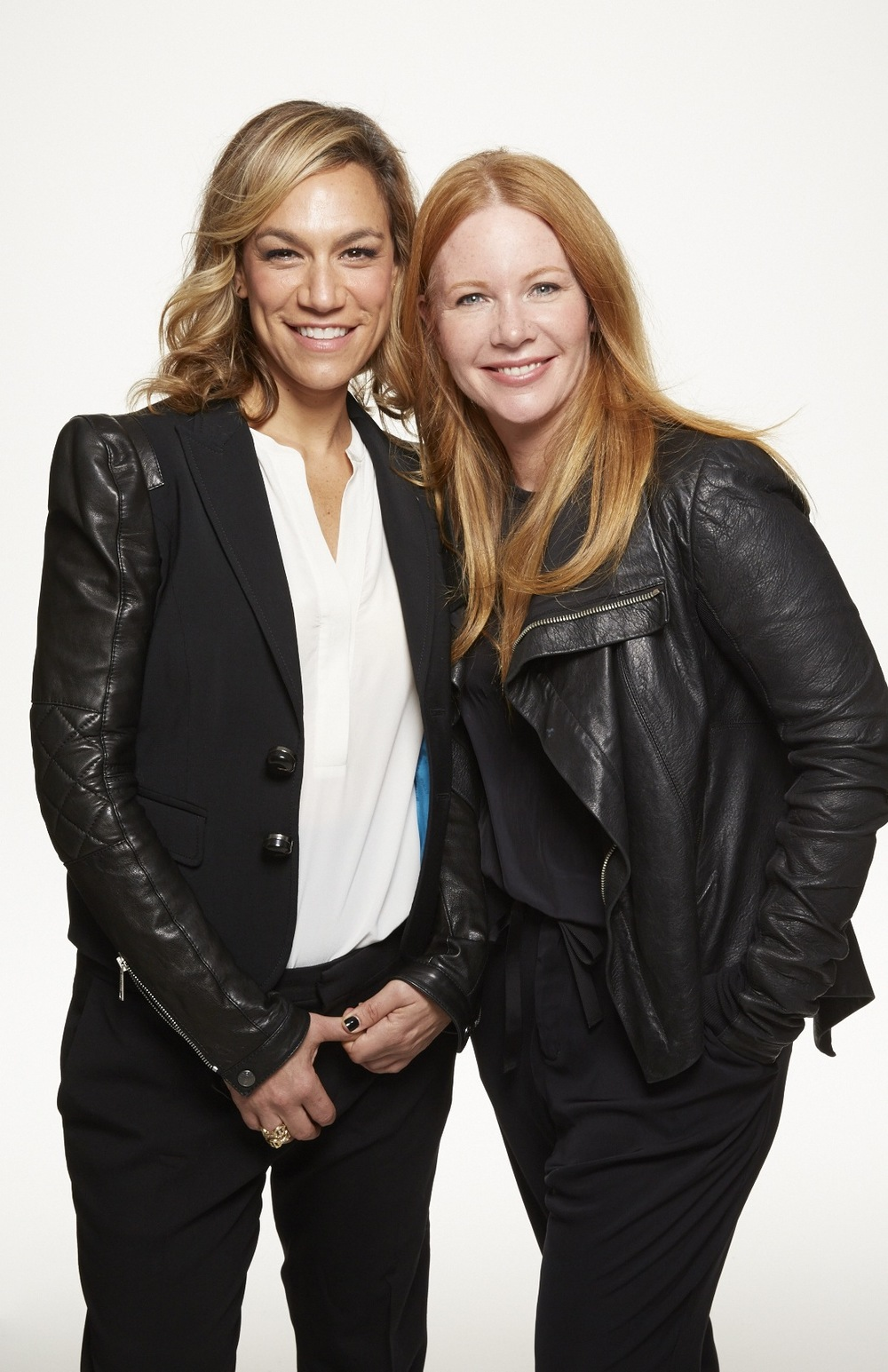 Julie Rice, left, and Elizabeth Cutler, right. Co-Founders, SoulCycle.