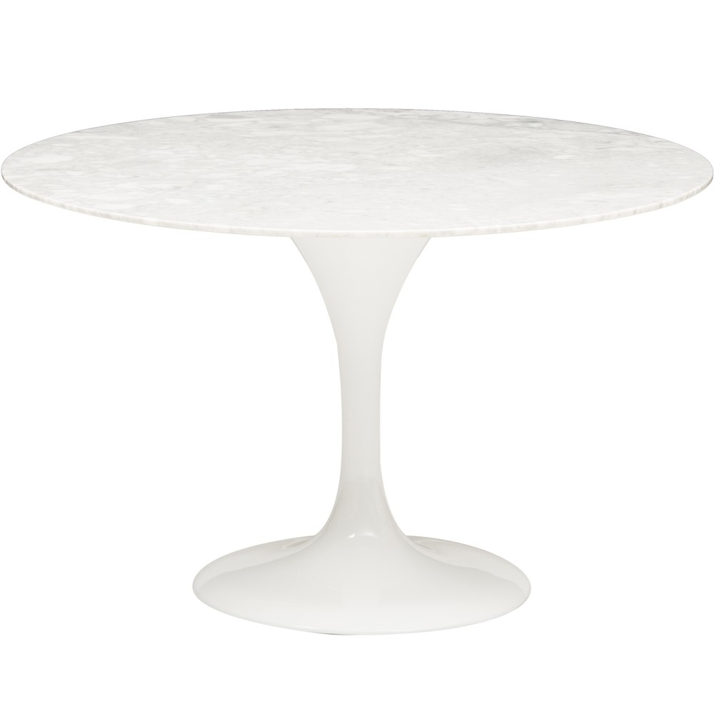 Cal Marble Round Dining Table, $1099.