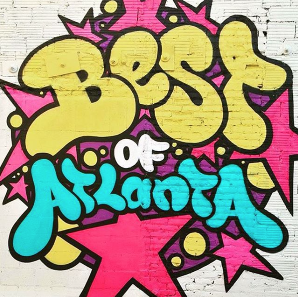 11 Best Atlanta Street Art Walls — Create + Cultivate