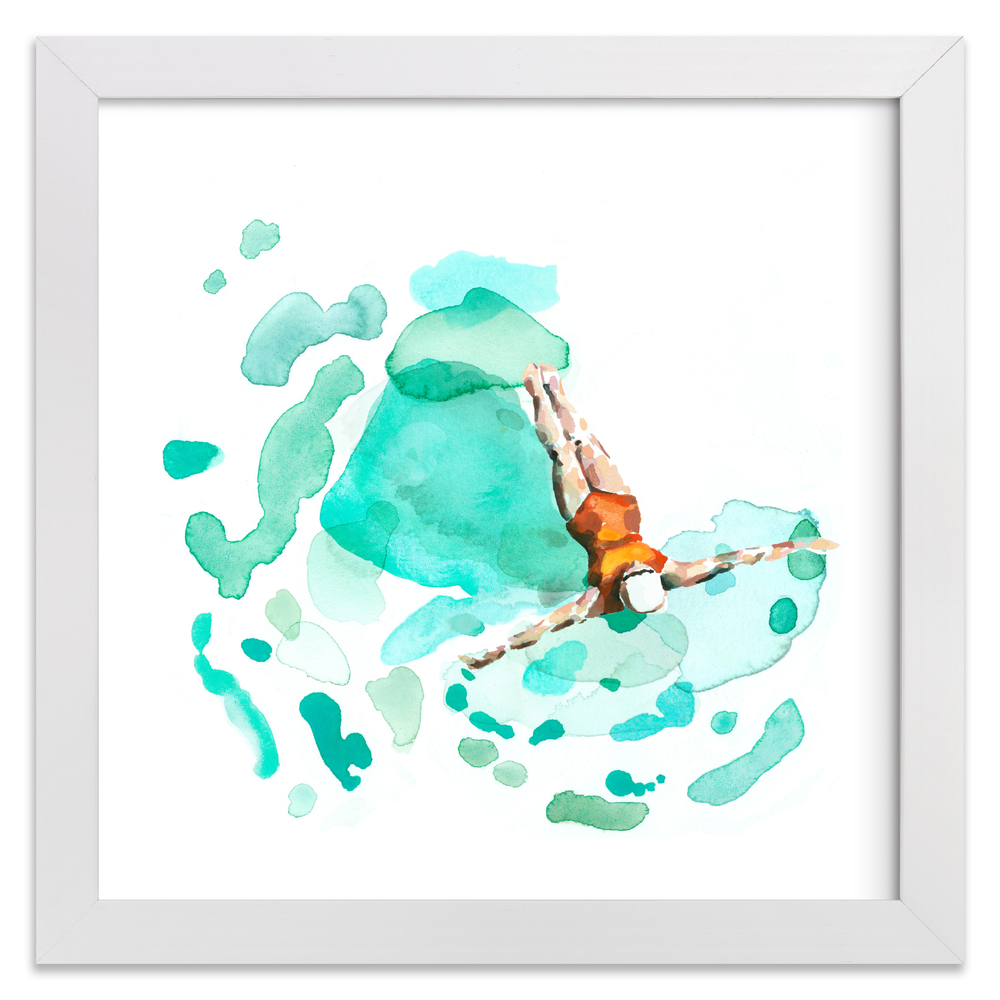 Float. Limited edition print by Betty Hatchett.