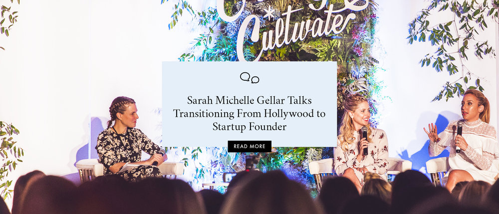 Sarah Michelle Gellar Talks Transitioning From Hollywood to Startup Founder