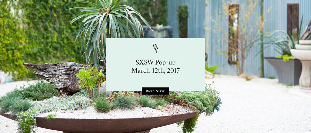 SXSW Pop-up March 12th, 2017