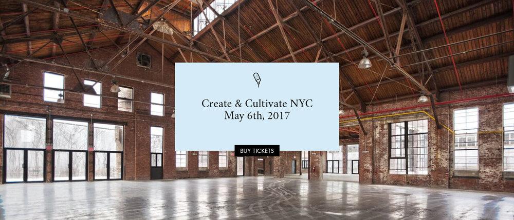 Create & Cultivate NYC