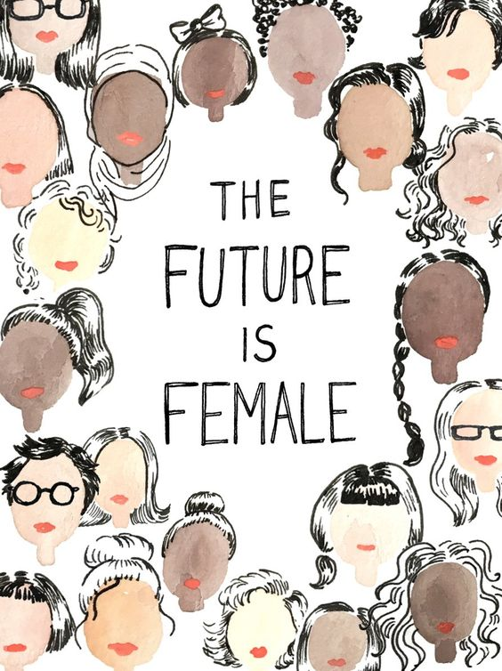 Future is Female poster designed by Kimothy Joy