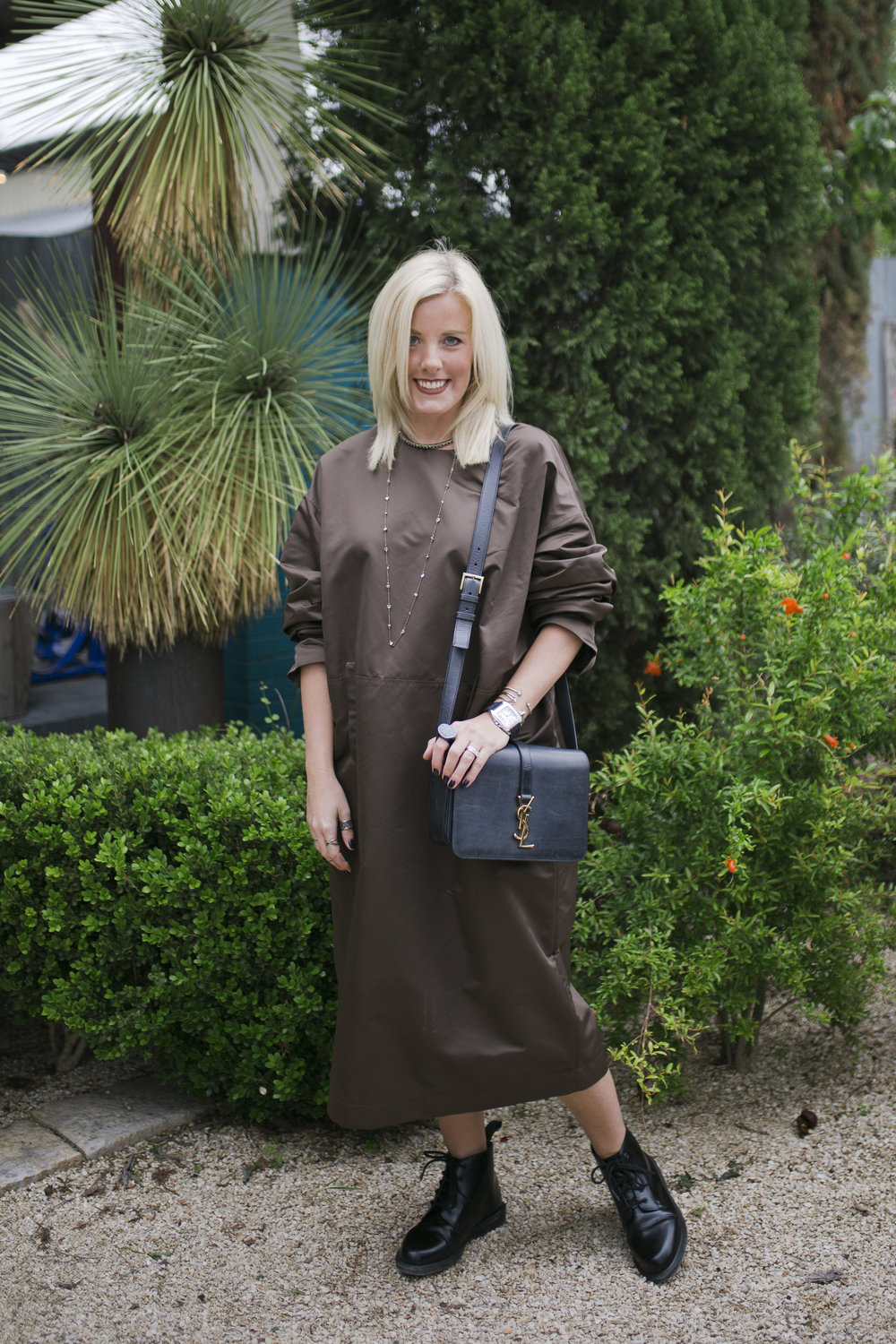 Denise Chumela, VP of Design at Kendra Scott, knows how to look chic in the cold. @dchumlea   Photo credit:  Katie Jameson
