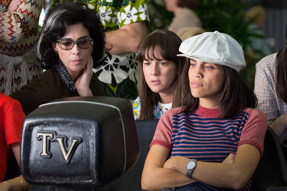 Natalie Morales in Battle of the Sexes I photo: Twentieth Century Fox