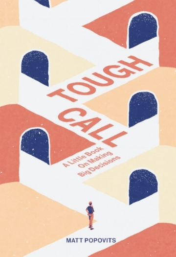 """Tough Call"" cover design by  timbauerdesign.com"