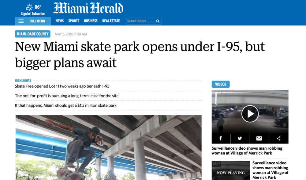 Read the full article in the link below. http://www.miamiherald.com/news/local/community/miami-dade/article75670052.html