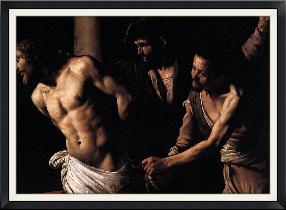 Christ at the Column, Caravaggio c. 1607