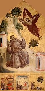 Giotto,Stigmatization of St Francis. 1295-1300.