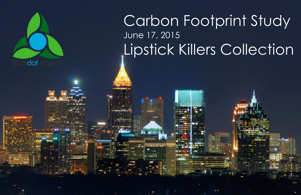 Click  to view the Lipstick Killers Collection Carbon Footprint Assessment
