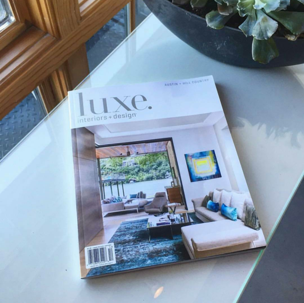 Cover of LUXE  interior + design
