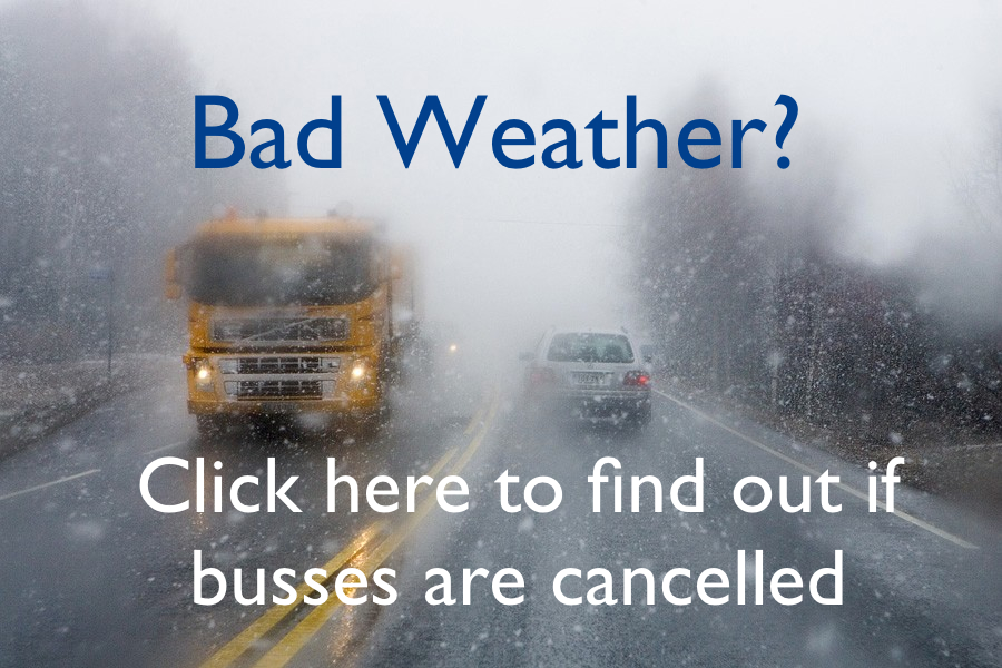 Please note that in the interests of safety our policies mandate that when busses are cancelled playgroups, as well as before and after school programs, are also cancelled.
