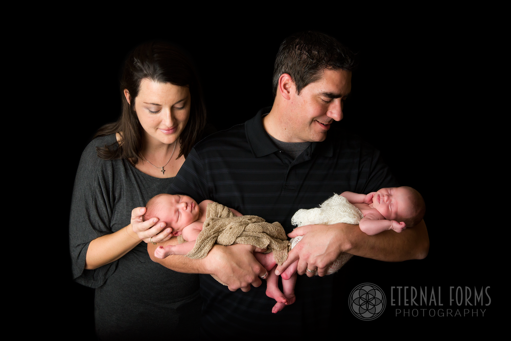 round rock newborn twin photographer 12