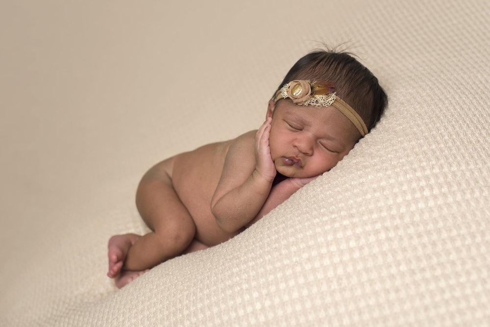 little angel newborn girl