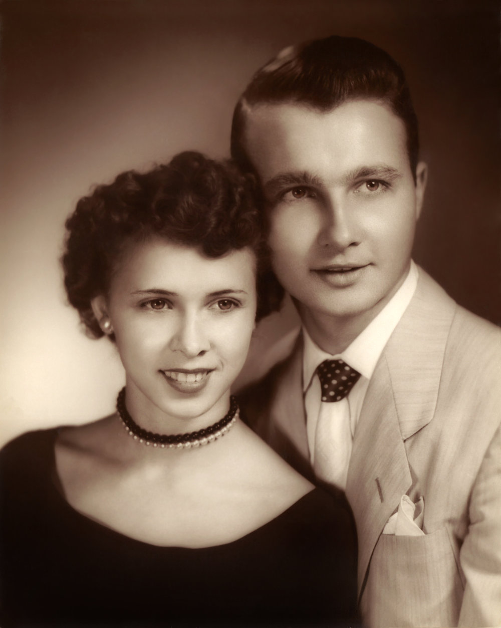 My Grandparents before they were married. Straight off of the silver screen I swear!