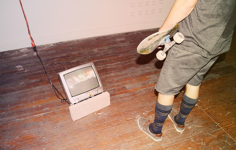 Bryan Peterson Video Installation