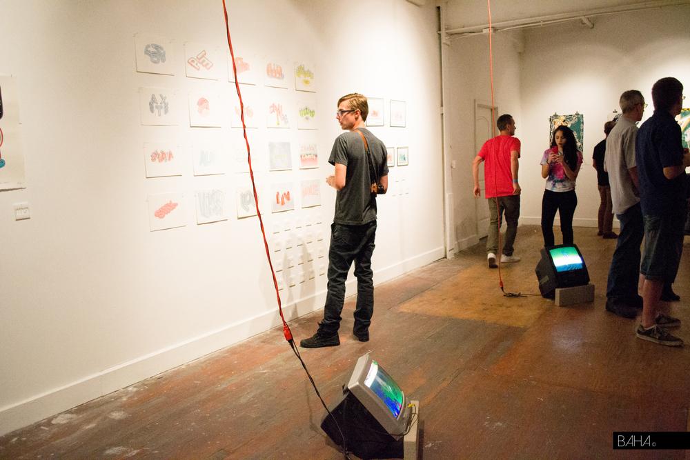 Art of Scott Teplin and Bryan Peterson Installation
