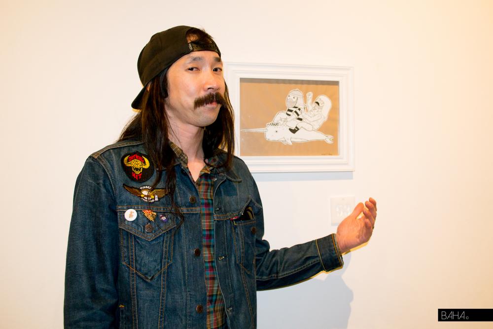 Artist Michael Hsiung