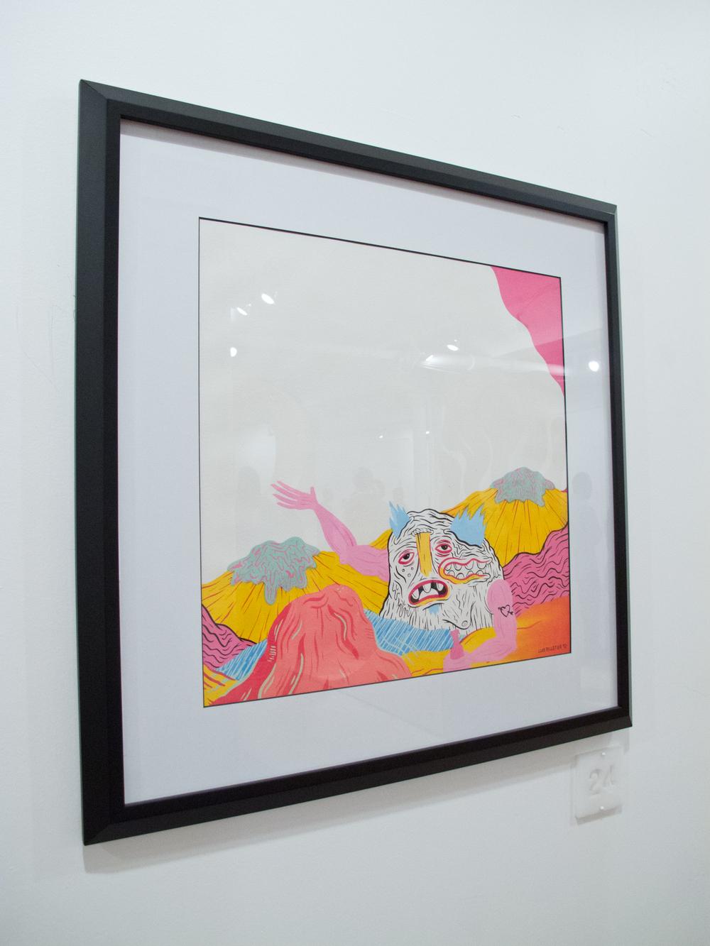 Art by Curator Luke Pelletier