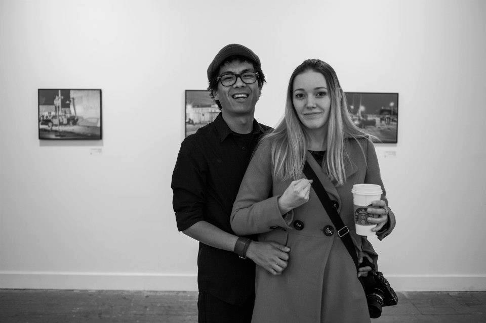 Photographer Mark Rosales and Girlfriend
