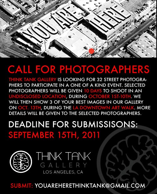 Call for Photographers Announcement