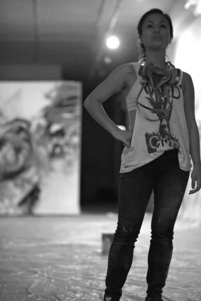 "Artist Allison ""Hueman"" Torneros"