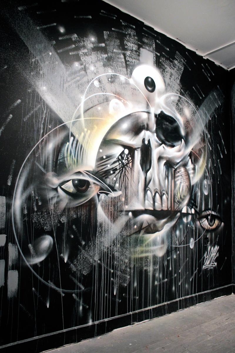 VYAL x Hueman Mural