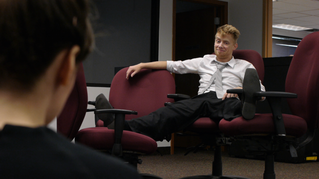 We went into the 2013 Minneapolis 48 Hour Film Project with an empty office and some chairs, and we came out the other side with  All's Chair in Love and War  - one of the oddest films in our oeuvre. I wouldn't have it any other way!