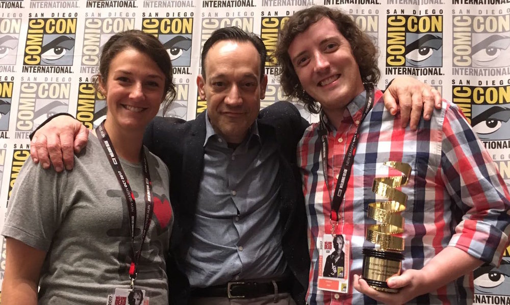From Left to Right: Katie Vannelli (Lizzy Lectric), Ted Raimi (Festival Judge), Andrew Neill (Producer/Co-Director)