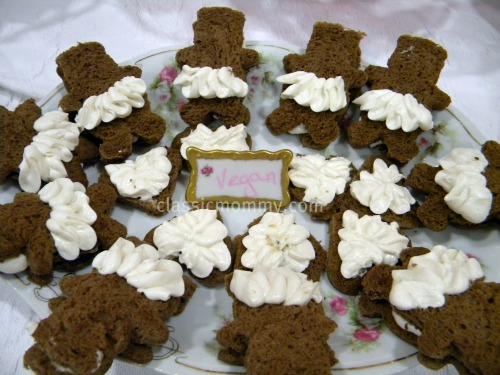 Teddy Bear Ballerina Sandwiches