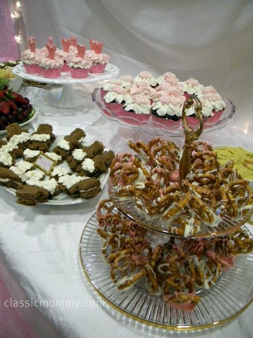 Ballerina Birthday Party Food