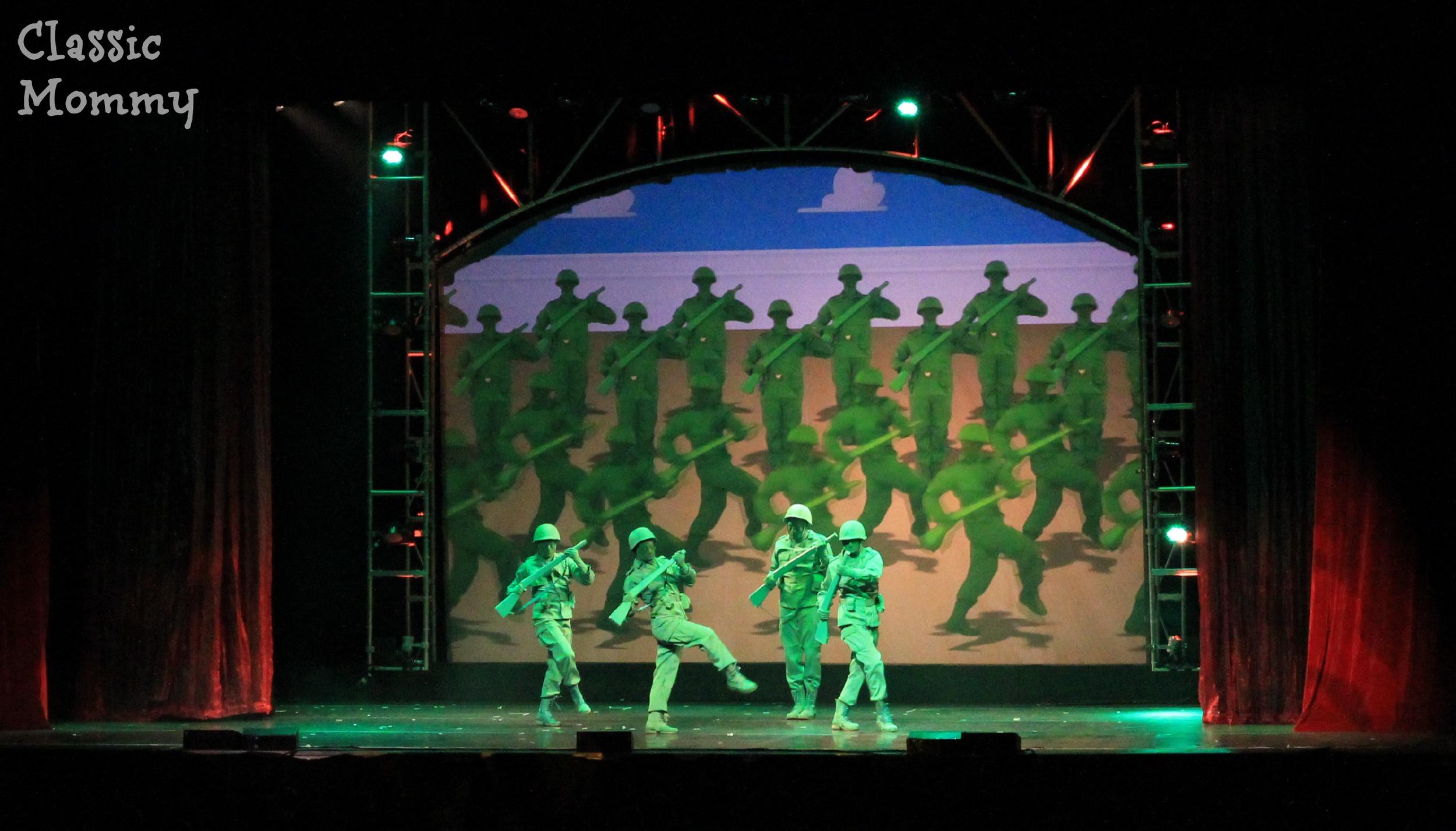 Disney Live Toy Story Army